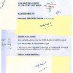 Constat HUISSIER du 6 & 8 Avril 2009