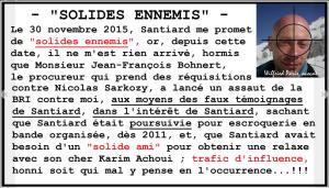 SMS de Maître Françoise SANTIARD --Ne vous étonnez pas de vous faire de solides ennemis-- / Affaire Wilfried PARIS Avocat Rouennais Menacé de Mort site www.maisonnonconforme.fr Patrick DEREUDRE